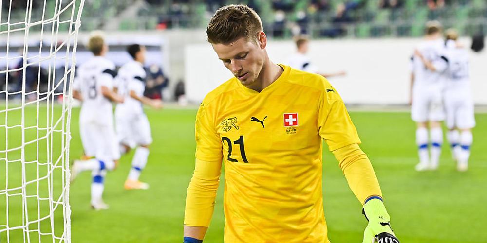 Verletzung am Sprunggelenk: Jonas Omlin steht der Schweiz an der EM nicht mehr zur Verfügung
