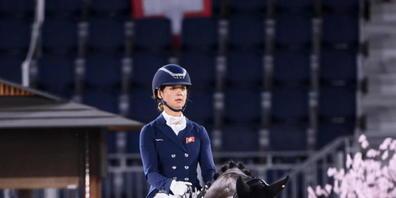 Estelle Wettstein erhoffte sich von ihrer ersten Olympia-Teilnahme in der Dressur mehr