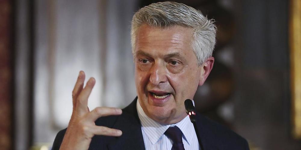 ARCHIV - Der UN-Hochkommissar für Flüchtlinge, Filippo Grandi, hat zahlreiche Länder aufgerufen, die Prinzipien der Genfer Flüchtlingskonvention zu verteidigen. Er sei alarmiert, weil europäische und andere Länder immer öfter versuchten, sich ihre...