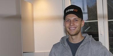 Motorrad-Ass Dominic Schmitter ist froh, wieder gesund zu Hause zu sein
