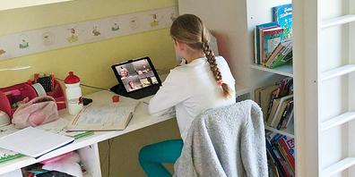 Die OBS-Schüler folgen dem normalen Unterricht zu Hause. Die Stundenpläne bleiben wie gehabt.  (Bild: zvg)