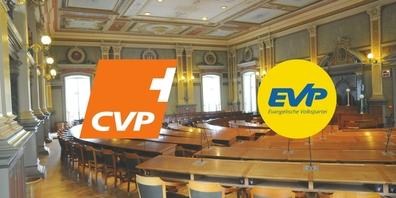 Die Mitteparteien CVP und EVP bilden in dieser Legislatur eine gemeinsame Fraktion im St.Galler Kantonsrat.