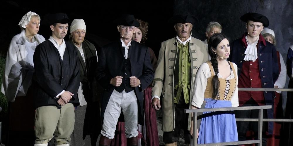 «Anna Göldi» auf der Freilichtbühne Rüthi war letztes Jahr ein grosser Publikumserfolg