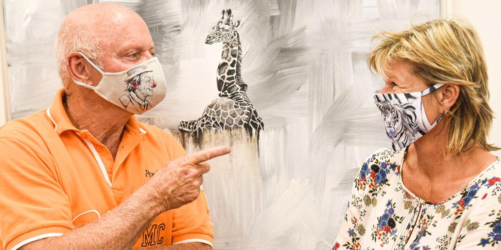 Wurden von Bestellungen regelrecht übrrannt: Rolf Knie und Brigitte Neeser.