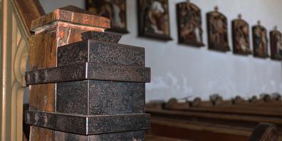 Zwei Opferstöcke einer Schänner Kirche am Rathausplatz wurden mit Gewalt entleert. (Symbolbild)