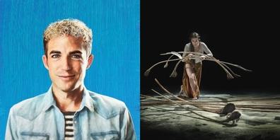 Michael Elsener tritt am 20.5.21 mit FAKE ME HAPPY (l.) im Kreuz Jona auf, das Tanz- und Objekttheater Sospiri by Rigolo (r.) am 20.2.21.