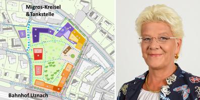Das Grossvorhaben wird laut Claudia Streuli (CEO der Streuli Pharma AG, r.) Investitionen von über 200 Mio. Franken auslösen.