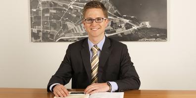 Andreas Bühler, Gemeinderat von Weesen tritt der CVP bei.