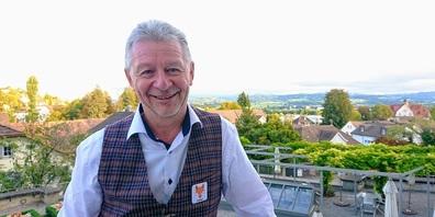 """Hans Mäder kann aus der Pole-Position in den zweiten Wahlgang als Stadtpräsident starten. Mäder: """"Das gute Resultat, auch als Stadtrat, ist eine gute Basis.*"""