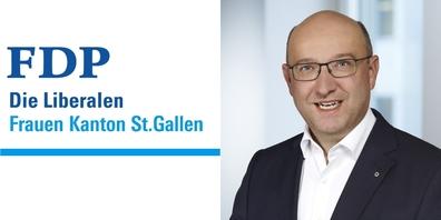 Regierungsratskandidat Beat Tinner kann auf die volle Unterstützung durch die kantonalen FDP Frauen zählen.