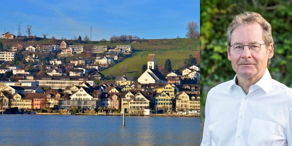 Félix Brunschwiler ist seit 11 Jahren Gemeindepräsident von Schmerikon.