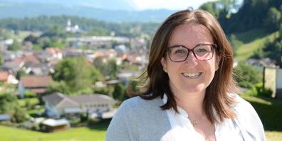 Die Rüthnerin Simona Schwalder wurde als Kandidatin bei der Gemeindepräsidentenwahl bekannt