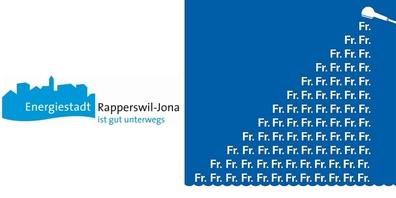 In Rapperswil-Jona nutzen bereits 8.5 Prozent der Haushalte eine von der Stadt geförderte Sparbrause.