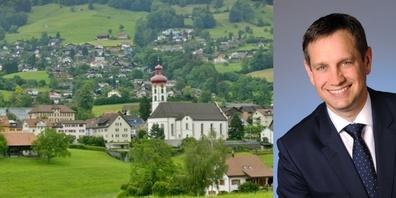 Peter Hüppi, seit 4 Jahren Gemeindepräsident, findet es sehr schade, dass fast alle Veranstaltungen abgesagt werden mussten.