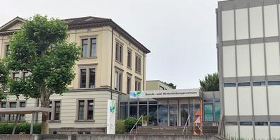 Das heutige BWZ vis-à-vis des Sonnenhofs, am Rand der Altstadt.