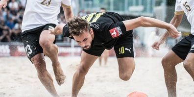 Das Finale der Swiss Beach Soccer League wird schlussendlich am 23. bis 25. Juli in der Spiezer Bucht stattfinden.