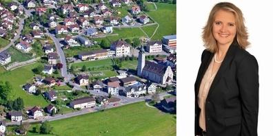 Heidi Romer, seit 2 Jahren Gemeindepräsidentin: «Der Benkner Büchel darf sich durchaus mit den Sieben Hügeln Roms vergleichen.»
