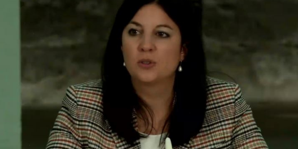 Regierungsrätin Laura Bucher zur Kulturförderung.