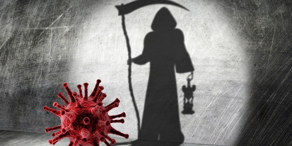 Jürg Rückmar übt Kritik an der (medial geschürten) Angst vor dem Corona-Tod. (Symbolbild)