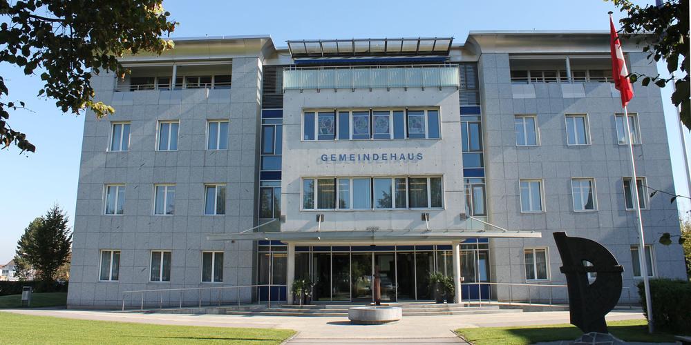 Im Diepoldsauer Gemeindehaus wurde fleissig an der weiteren Ortsplanung gearbeitet