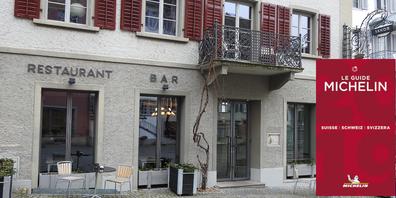 Jakobs Esszimmer am Rapperswiler Hauptplatz wird auch dieses Jahr mit einem Michelin-Stern ausgezeichnet.