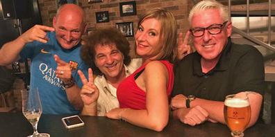 Cony Sutter, Salvo und Stefanie und Bauchredner Roli Berner.