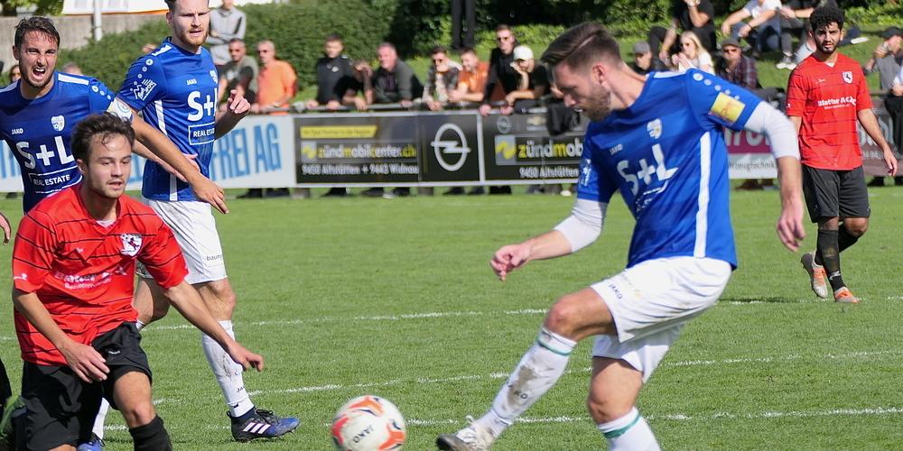 Mit Widnau-Rückkehrer Ilija Ivic ist die Defensive zu einem Bollwerk geworden (Bild: Ulrike Huber)