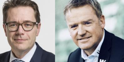 Wechsel im Verwaltungsrat: Beni Würth (links) kommt für Stefan Wolf (rechts).