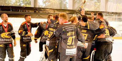 Inline Hockey Schweizer Meister ihcSF Linth aus Kaltbrunn
