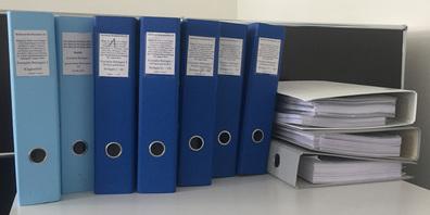 Die Unterlagen nach zwei KESB-Prozessen umfassen mehrere tausend Seiten.
