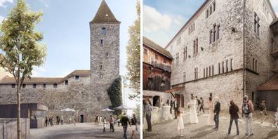 Die Neuinszenierung des Schlosses soll viele Bedürfnisse befriedigen.
