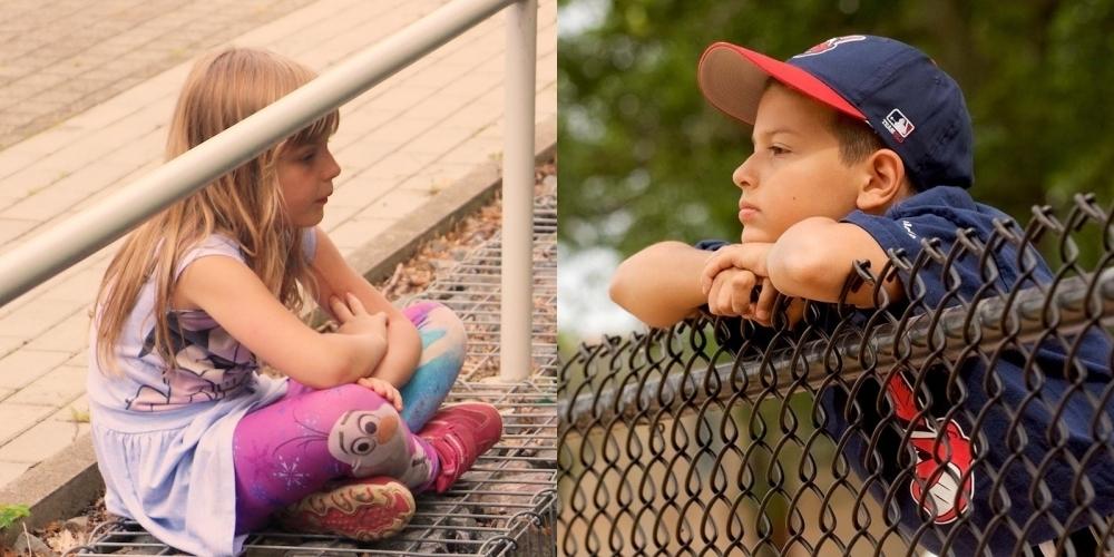 Bei Kindern kommt es stark darauf an, wie die Eltern selber mit Corona umgehen...