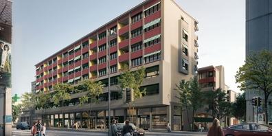 Das städtebaulich bedeutsame Vorhaben sieht im Citycenter Rapperswil die Realisierung neuer Wohn- und Gewerbeüberbauungen vor.