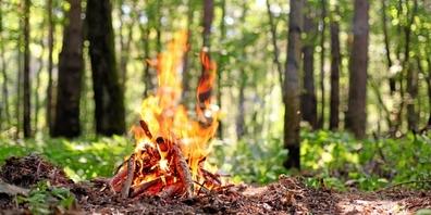 Für Weesen und Amden gilt bereits ein Feuerverbot. In den restlichen Gemeinden ist Vorsicht geboten.