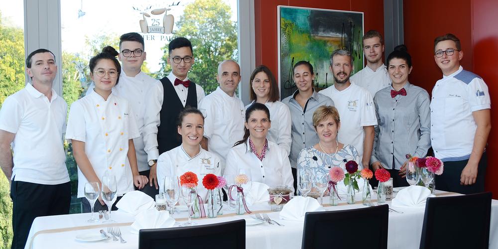 Das Team des Restaurants Peter & Paul