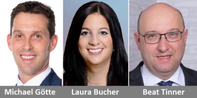 Nur Tinner (FDP) und Bucher (SP) nahmen am Rating teil, Götte (SVP) verzichtete.