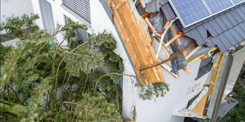 Schäden durch Naturereignisse fielen mit einer Summe von 14.5 Mio. Franken überdurchschnittlich aus.