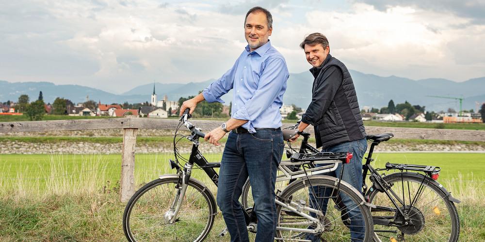 Die Gemeindeoberhäupter von Au und Lustenau, Christian Sepin und Kurt Fischer, werden wohl auch teilnehmen