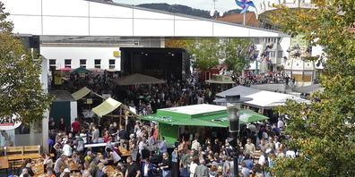 Die Kilbi in Lustenau ist das grösste Volksfest Vorarlbergs