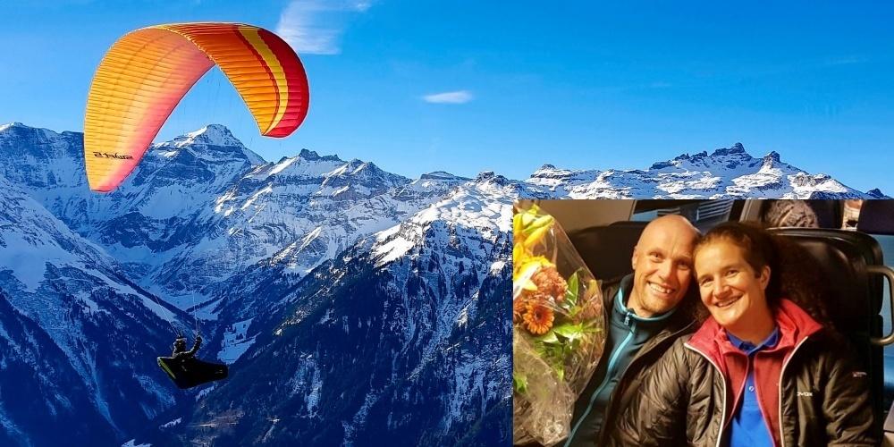 Werner und Gabriela Jacober fliegen seit 30 Jahren Gleitschirm und waren diese Saison - auch wenn diese coronabedingt ein wenig abgeändert verlief - erfolgreich in den Wettbewerben.