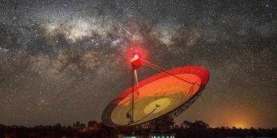Das Parkes Observatory in New South Wales fing 2020 ein mysteriöses Radiosignal auf: Es schien von Proxima Centauri zu kommen und die Existenz von ausserirdischer Intelligenz zu beweisen. Die Hoffnungen haben sich jetzt zerschlagen (Pressebild).