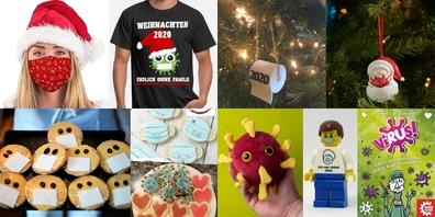 Ob Weihnachtsmode, Baumdeko, Gebäck oder Spielsachen: Corona breitet sich immer weiter aus...