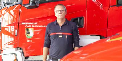 «Wir sind immer auf der Suche nach motiviertem Nachwuchs», so Peter Müller, Kommandant der Feuerwehr der Stadt Schaffhausen.