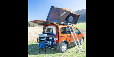 Camping liegt im Trend.