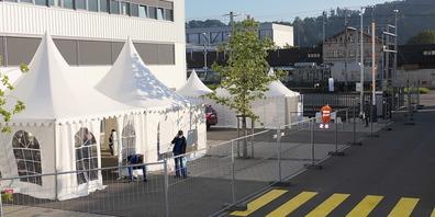 418 Menschen liessen bei der ersten mobilen Covid-19-Impfaktion auf dem Stadler-Areal in St.Margrethen  impfen