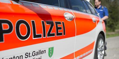 Dienstfahrzeug der Kantonspolizei St. Gallen.