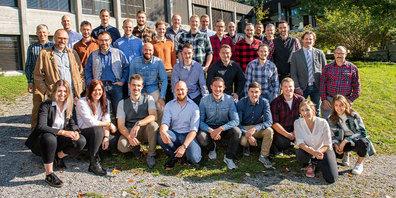 Absolventen des Försterlehrgangs 2020/21 im ibW Bildungszentrum Wald Maienfeld.
