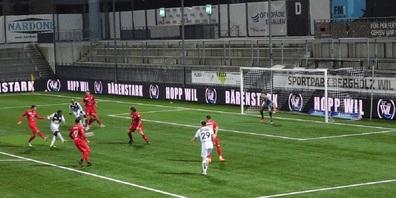 Treffer zum 1:1-Ausgleich für den FC Wil 1900 durch Maren Haile-Selassie (Assist: Marcin Dickenmann).