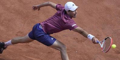 Dominic Thiem beehrt die Swiss Open in Gstaad