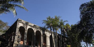 Das Atelier des ehemaligen Wohnhauses von Roberto Burle Marx. Der frühere Wohnsitz des deutschstämmigen Landschaftsarchitekten in der brasilianischen Metropole Rio de Janeiro ist zum Welterbe ernannt worden. Foto: Bruna Prado/AP/dpa Foto: Bruna Pr...